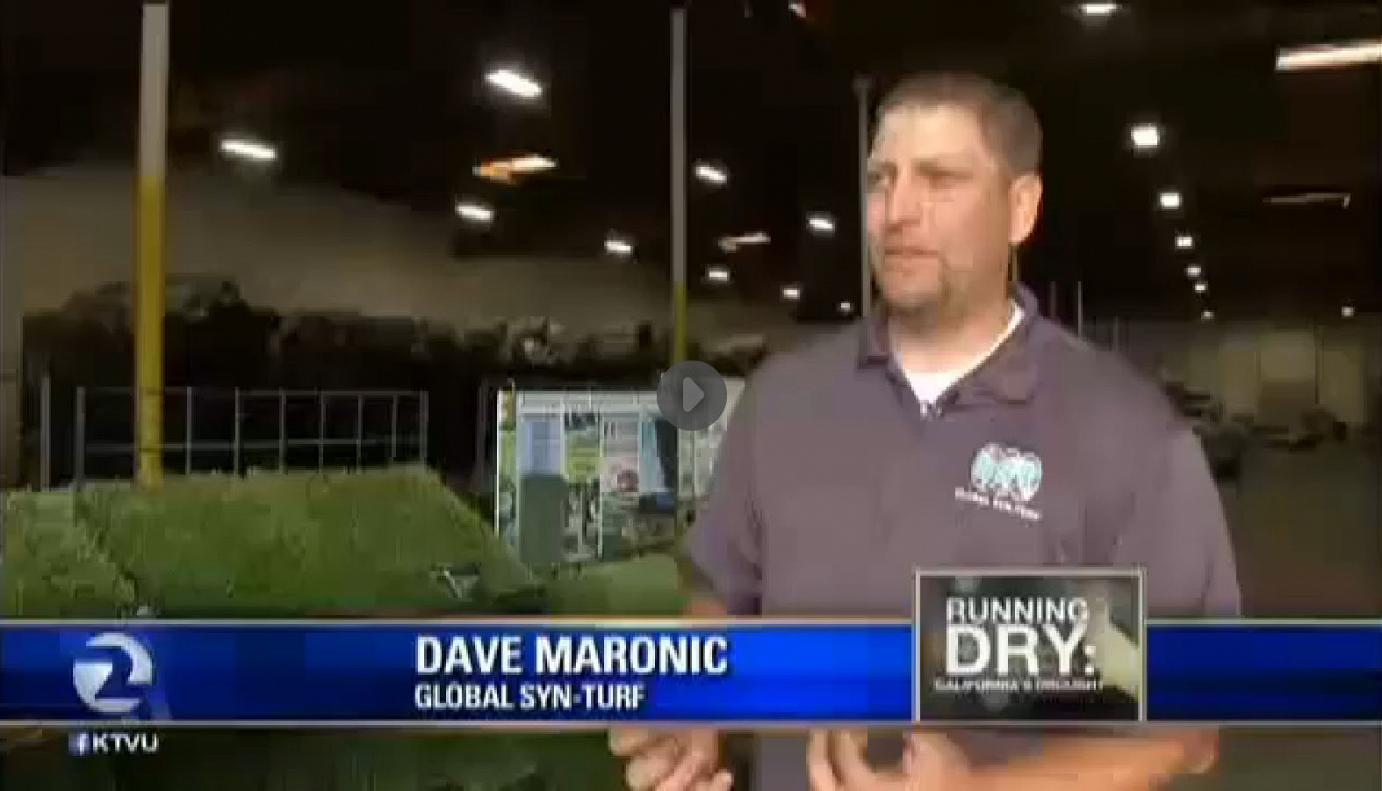 artificialgrass California Drought Salvation - Global Syn-Turf at San Francisco's Fox News