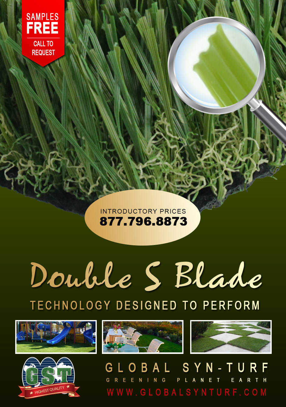 artificialgrass Global Syn-Turf Launches Premium Double S Blade Artificial Grass Technology