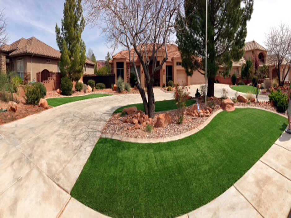 Installing Artificial Grass Corning California Roof Top Front Yard Design