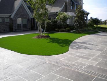 Artificial Grass Photos: Artificial Lawn McArthur, California Landscape Photos, Front Yard Design