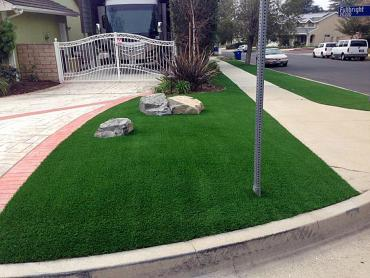 Artificial Grass Photos: Fake Grass Bertsch-Oceanview, California Paver Patio, Front Yard Landscaping