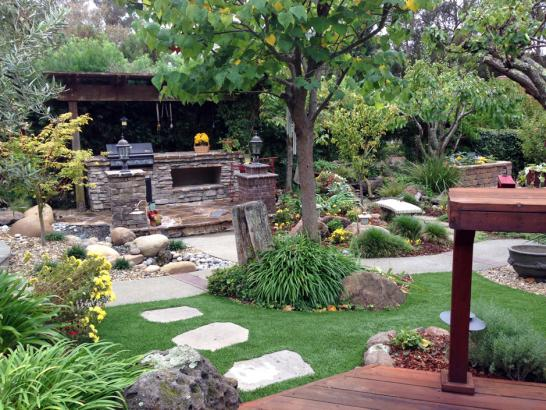 Artificial Grass Photos: Grass Installation Lake Wildwood, California City Landscape, Backyard