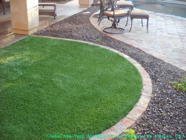 Grass Turf Round Mountain, California Rooftop, Front Yard Ideas artificial grass