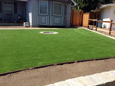 Plastic Grass Camptonville, California Backyard Deck Ideas, Small Front Yard Landscaping artificial grass