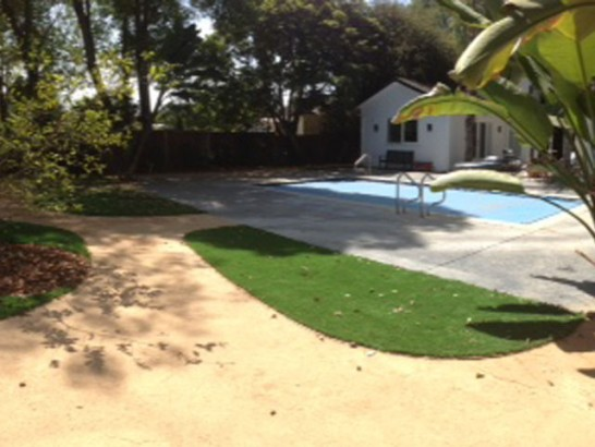 Synthetic Turf Alturas, California Design Ideas, Backyard Landscape Ideas artificial grass